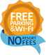 Free Parking and Wi-Fi. No Resort Fees