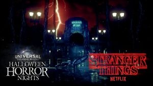 Halloween Horror Nights and Stranger Things