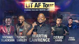 Amway Center Presents the LIT AF Tour Hosted by Martin Lawrence